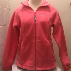 Columbia ladies full zip fleece. Size Medium